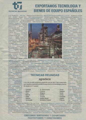 TECNICAS REUNIDAS congratulates A.G. Quality once again
